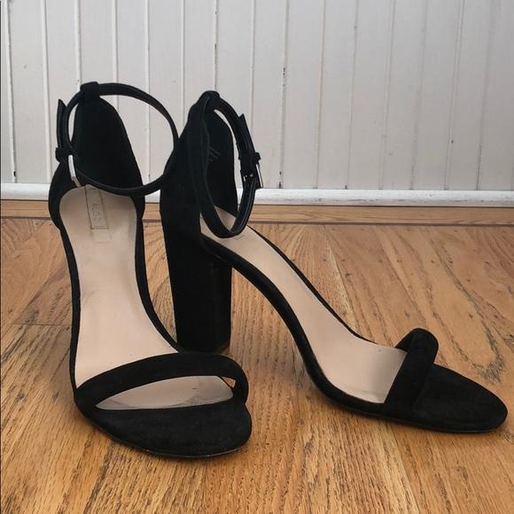 Aldo Shoes   Aldo Black Suede Block
